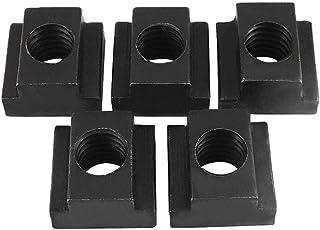 5X Oxide Finish T-Slot Nuts Threads Machine - Black, M18