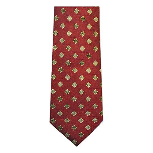 Patrick Francis of Ireland Red Celtic Silk Necktie