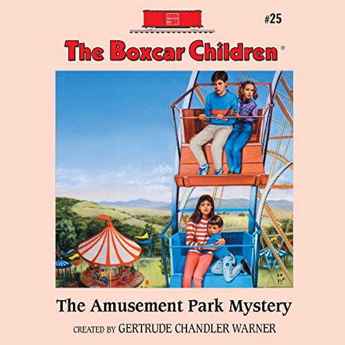 The Amusement Park Mystery audiobook cover art