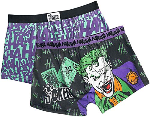 Joker Pack de 2 Boxers (Multicolor) - XL