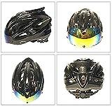 WXQY Smart Bike Helmet, Smart Bicycle Helmet Bluetooth, Casco de Bicicleta con Luz de Seguridad y Visera de Protección, Recargable (estándar CE de La UE)