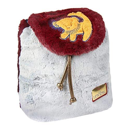 ARTESANIA CERDA Mochila Casual Pelo Lion King, Rojo, 25 cm