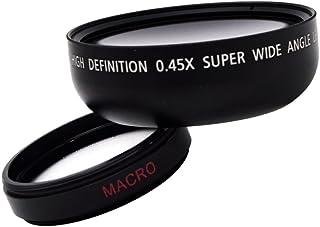 H HILABEE Universal 46mm 0.45x groothoek & Makro High Definition lens voor DSC P8