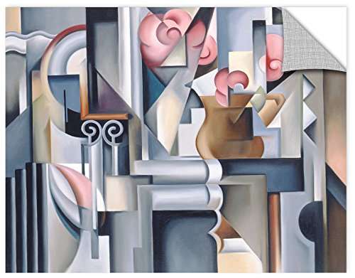 Catherine ABEL ''Still Life with Roses'' Removable Wall Art Mural, 24X32