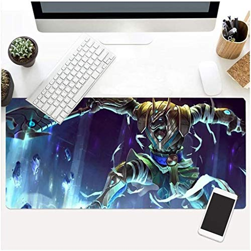 Vampsky Mouse Pad Table Mat Demon Slayer Kimetsu No Yaiba Impression Oversized Non-Slip Rubber Professional Gaming Mouse Pad for Home Office Desk Laptop PC Peripheral