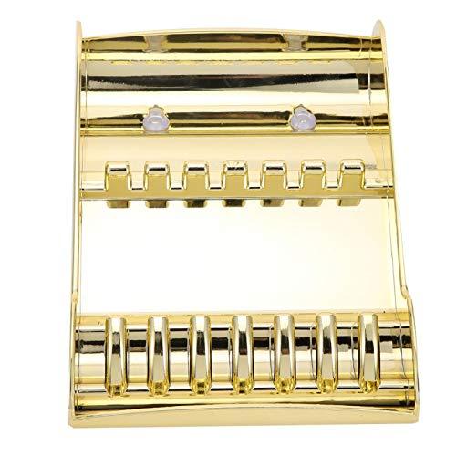 Tijeras Estuche Organizador de tijeras Soporte de almacenamiento de tijeras Estante de almacenamiento de tijeras profesional para peluqueros para peluquería para peluquería para(Golden)