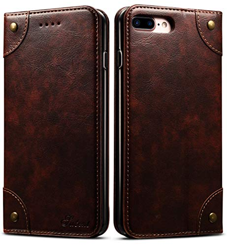 SINIANL iPhone 6S Case, iPhone 6 Case, Leather Wallet Folio Case Book Design Magnetic Closure with Stand and ID Holder Credit Card Slots for iPhone 6 / 6S