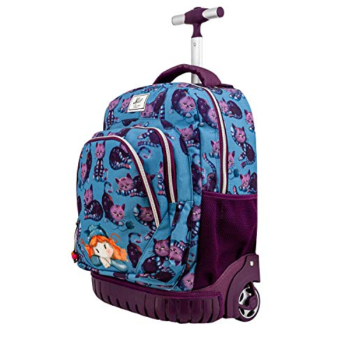 Forever Ninette Nico - Mochila Trolley Travel GTS, Multicolor