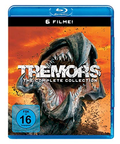 Tremors 1-6 [Blu-ray]