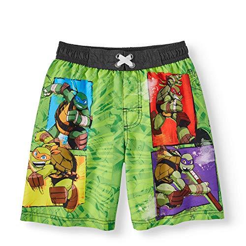 Fashion Teenage Mutant Ninja Turtles Boardshort Swim Trunk - Large