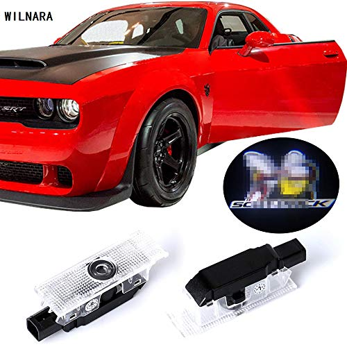 Dodge Challenger Projector Ghost Shadow Courtesy Light Welcome Light for Dodge Challenger Scat Pack RT-No16
