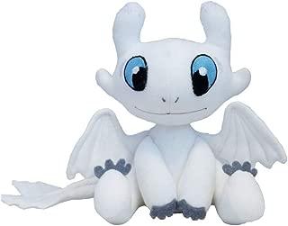 PlayFun How to Train Your Dragon Plush White Dragon Toy Light Fury Soft