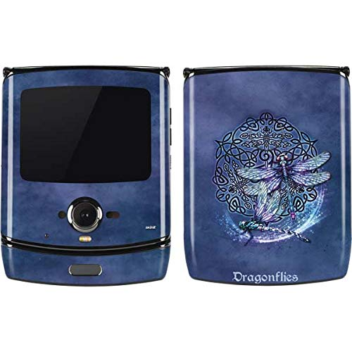 Skinit Decal Phone Skin for Motorola RAZR - Tate and Co. Dragonfly Celtic Knot Design