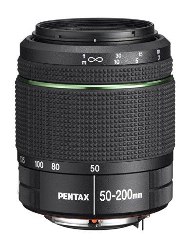 Pentax 50-200 mm f/4.0-5.6 SMC ED WR - Objetivo para Pentax (Distancia Focal 50-200mm, Apertura f/4, diámetro: 49mm) Color Negro