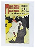 Moulin Rouge - Retro Style Advertising Poster Large Cotton