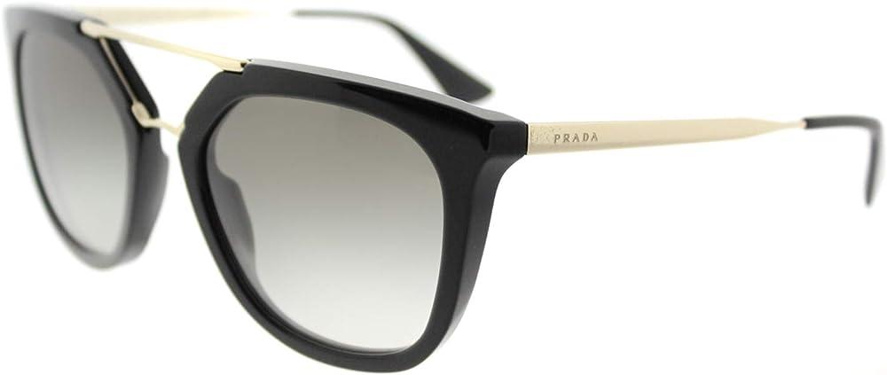 Prada occhiali da sole in metallo brow 13QS