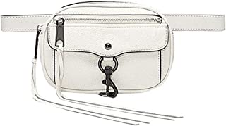 Adela Women Fanny Pack Tassel Crossbody Waist Bag Retro Phone Chest Bag, Beige