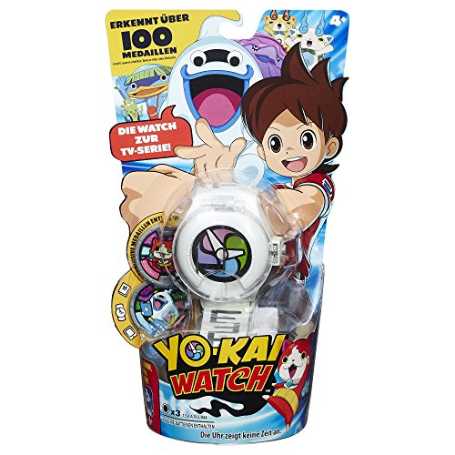 Hasbro Yo-Kai Watch B5943100 - Uhr inklusiv 2 Medaillen, Sammelspielzeug