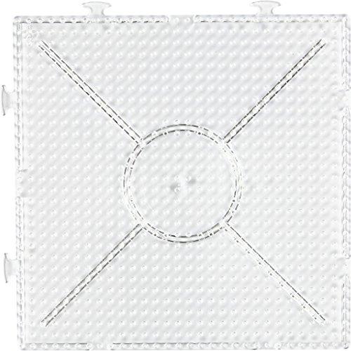 Peg Board, 15 x 15 cm, gran construcción cuadrada, 1 pieza