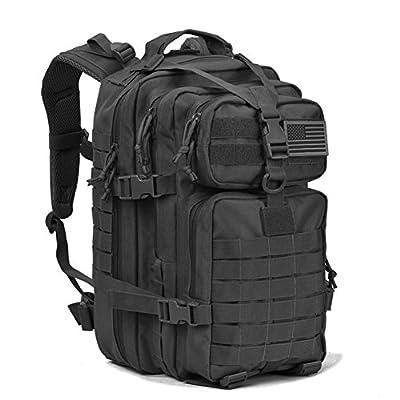 Military Tactical Backpack Army Molle Assault Pack Bug Bag Backpacks 34L Daypack Black