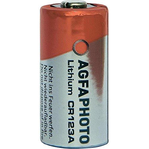 MediaCom IT-Distribution GmbH Agfaphoto Batería De Litio, Cr123A 3V Ampolla Al por Menor (1-Pack)