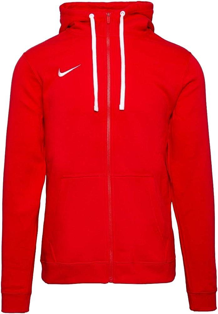 Nike felpa per uomo con cappuccio e cerniera centrale completa 80% cotone 20% poliestere AJ1313A