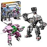 Construisez l'ensemble D.Va et Reinhardt LEGO Overwatch 75973 Inclut les figurines D.Va et Reinhardt Les ensembles LEGO Overwatch sont compatibles avec tous les ensembles de construction LEGO pour une expérience de construction sans limite D.Va mesur...