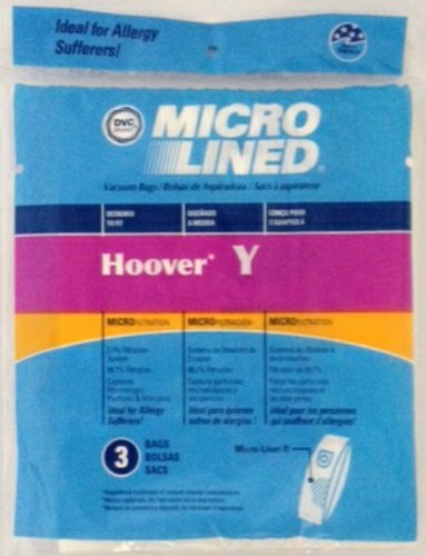 Home Care Products Hoover Y Micro Lined Paper Vacuum Bag, 3-P