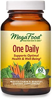 Sponsored Ad - MegaFood, One Daily, Supports Optimal Health and Wellbeing, Multivitamin and Mineral Supplement, Gluten Fre...