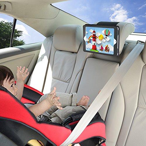 WANPOOL Soporte para iPad para el Coche Soporte para Reposacabezas para el Coche para iPad Air de 9,7 Pulgadas (NO Apto para iPad Air 2)