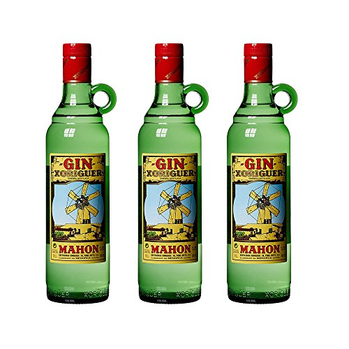 Xoriguer Gin Mahon, Menorca, 0,7l Gin Sparpaket (3 x 0.7 l)