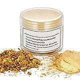 GARYOB Essbarer Glitzer Puder Kuchen Lebensmittelfarbpuder 7g Gold Deko