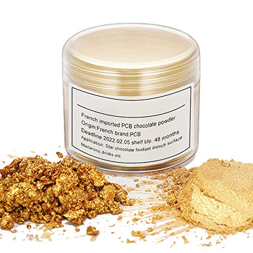 Gold Luster Dust Edible Cake Gold Dust, Gold, 7 Grams