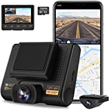 AQP Dual Dash Cam, Full HD 1080P Car Camera Front and Rear