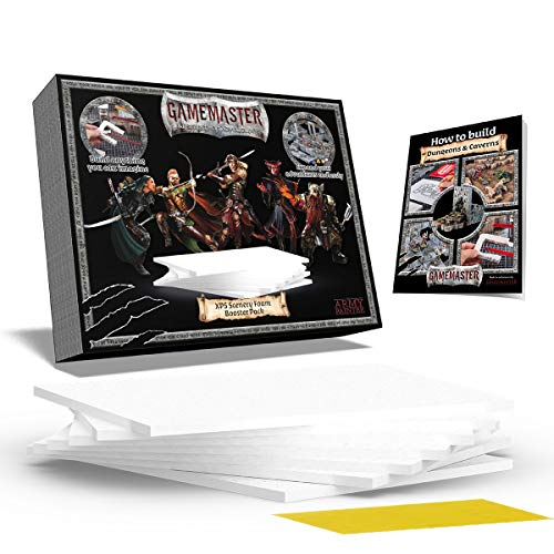 The Army Painter | GameMaster Pack de espuma XPS para escenografía | Suplemento de material de construcción | para Mazmorras y Terrenos, Juegos de rol, Escenografía Wargames y Modelado