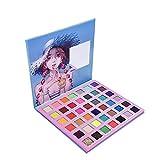 HJSMZ Paleta de Sombras de Ojos Paleta de Sombras Belleza Paleta Maquillaje Paletas de Maquillaje Conjunto de Paleta Brillantes y Mate 42 Colores
