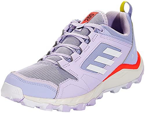 adidas Terrex Agravic TR W, Zapatillas de Trail Running Mujer, TONVIO/FTWBLA/Rojsol, 37 1/3 EU