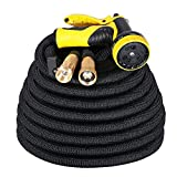 IDESION 100ft Garden Hose Pipe Expandable Magic Hose Stretch Water Hose Pipe with 9 Function Spray Gun [Updated Version]