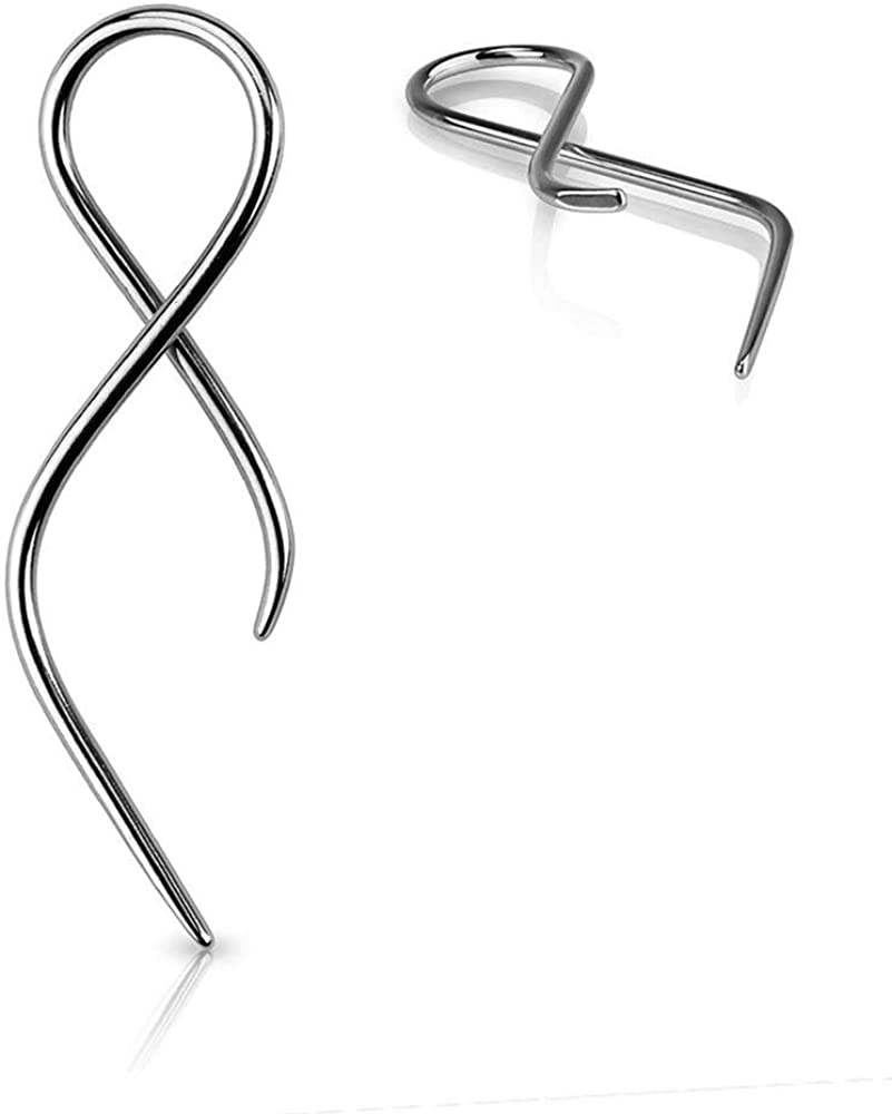 Covet Jewelry San Antonio Mall Twist Tail Taper Surgical Discount is also underway Steel 316L
