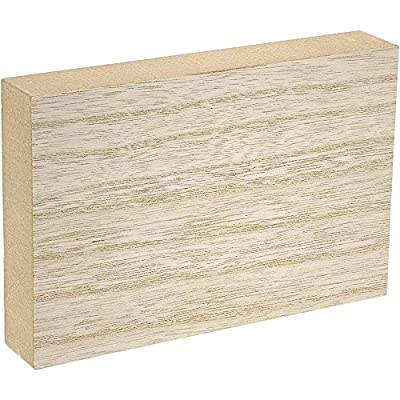 Unfinished Wood Rectangles for Crafts (6x4 In, 4 Pack)