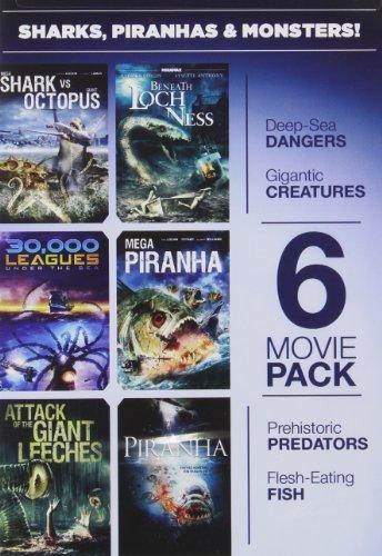 Sharks, Piranhas & Monsters