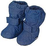 Sterntaler Mädchen Baby Stiefel mit Klettverschluss, Blau (Tintenblau Mel. 376), 21/22 EU