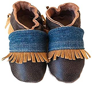 product image for JACKSON Handmade in USA, All-Natural Leather Baby Shoes.