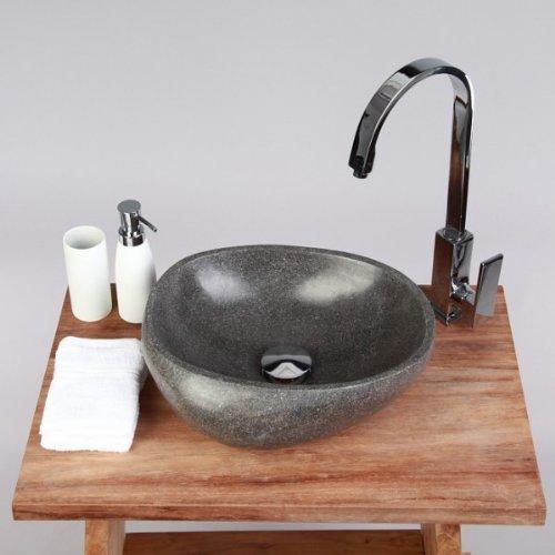 wohnfreuden Waschbecken poliert ca 30 cm Naturstein-Waschbecken mit Unikatauswahl nach dem Kauf Steinwaschbecken Bildergalerie