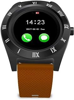 ULTECHNOVO Smartklocka telefon SIM-kort 32 MB RAM 32 MB ROM 3.0 stöder kamera armband stoppur kompatibel med Android