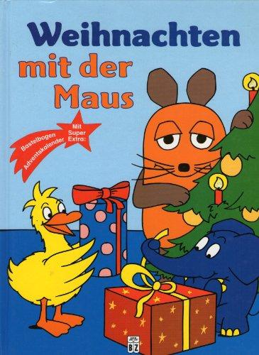 Weihnachten mit der Maus mit Bastelbogen Adventskalender