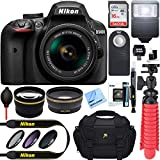 Nikon D3400 24.2 MP DSLR Camera + AF-P DX 18-55mm VR...
