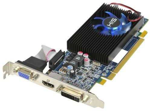 HIS Radeon HD 5570 Grafikkarte (1 GB (128bit) DDR3 HDMI DL-DVI (HDCP) VGA PCI Express 2.1 16X (RoHS) H557FS1G