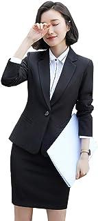 Jomiss レディース 洋服 スーツ セット ズボン パンツスーツ 細身長袖春 秋 冬 通勤 事務服 結婚式 ビジネス用 面接 無地キャリア OL