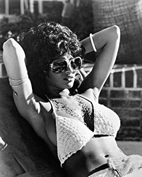 Pam Grier in Coffy Iconic Sexy pin up in bikini and sunglasses 16x20 Poster